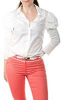 Женская белая рубашка Cop Copin