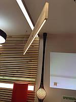 Подвесные светильники из натурального дерева, ручной работы