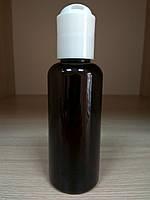 Флакон косметический Флора коричневый(бутылочка) диск-топ 60 мл.