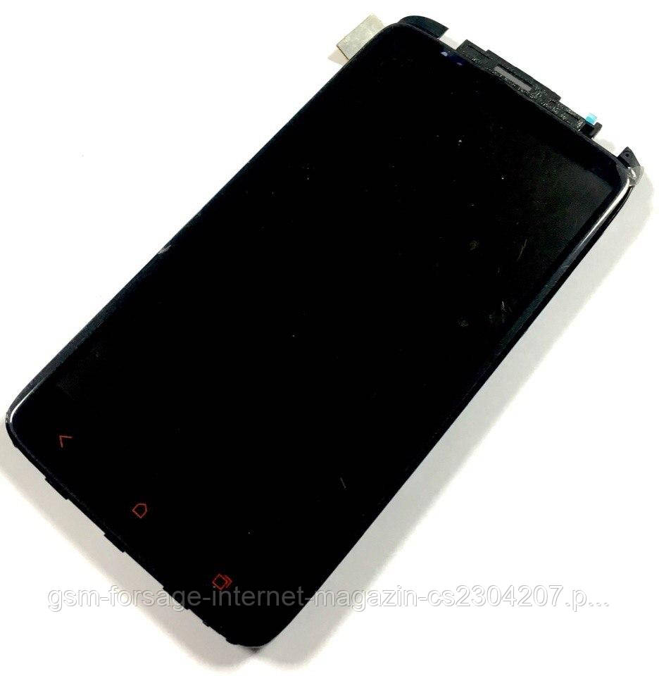 "Дисплей HTC One X Plus  complete + рамка (touch Corning Gorilla Glass 2) - ТК ""GSM-Forsage"" в Черновцах"