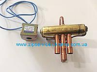 Клапан 4-х ходовой для кондиционера DSF-4-R410A, 220-240V  50Hz/60Hz 4-6W