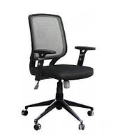 Кресло Онлайн Алюм сиденье Сетка черная, спинка Сетка серая (AMF-ТМ)