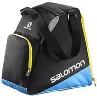 Удобная сумка для одной пары ботинок SALOMON EXTEND GEARBAG 2017 889645004334, черный/голубой