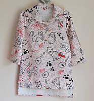 Детская рубашка или кофточка для девочек, подростковая