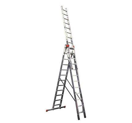 Лестница трехсекционная 3х12 Tribilo KRAUSE