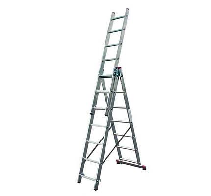 Лестница трехсекционная Corda KRAUSE (3x9)