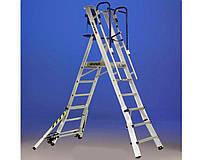 Телескопическая лестница-помост SCALA SVELT TELEFLY 6