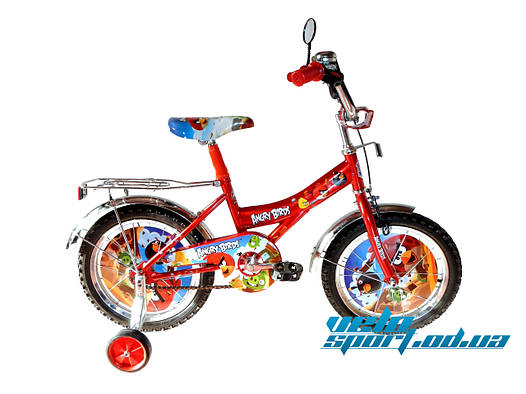 Детский велосипед Mustang Angry Bird (18-дюймов)