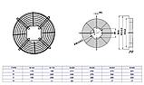 Решетка для двигателей обдува Weiguang 230 мм, фото 2