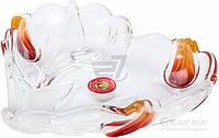 Салатник Walther Glass Nadinе Satin-Red-Gold 16 см w6147