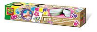 Пальчиковые краски серии Эко ЮНЫЕ ХУДОЖНИЦЫ 4 цвета, в пластиковых баночках Ses (24927S)