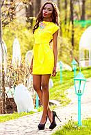 Платье Кора желтый