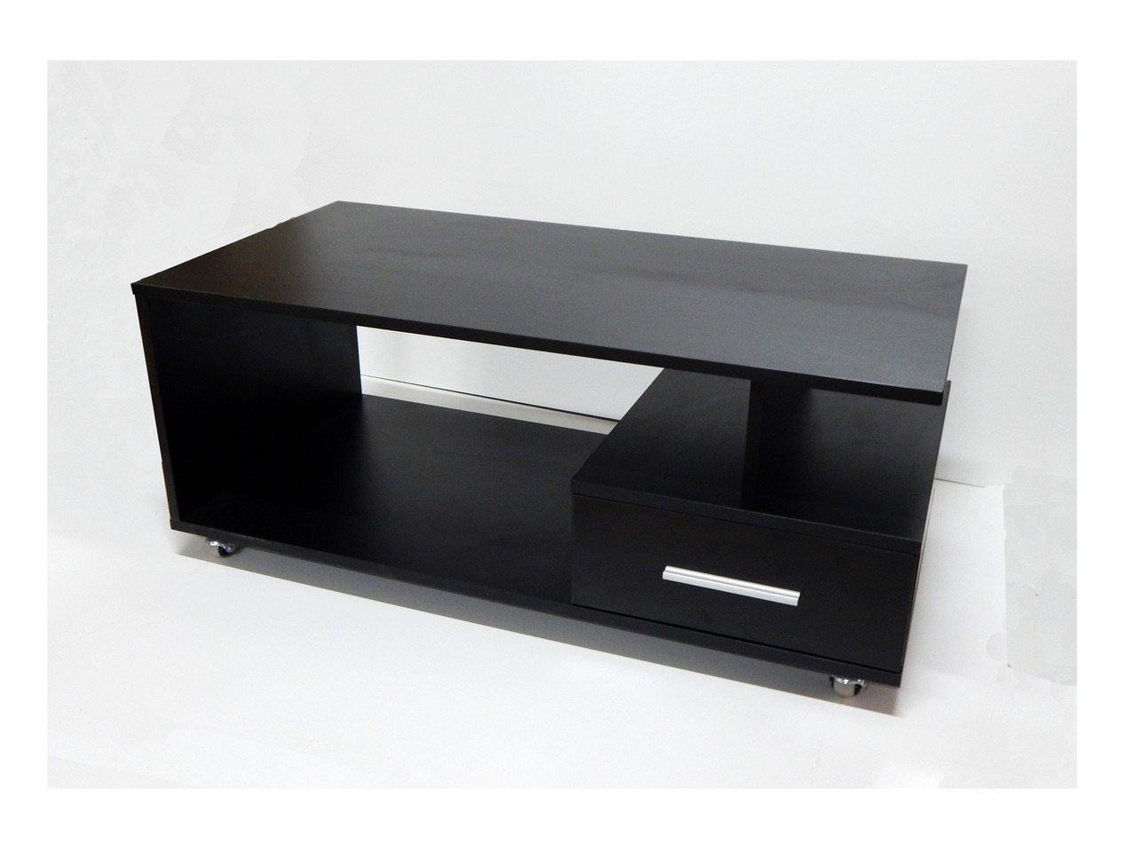 """Черный журнальный  передвижной стол """"Black Jack"""""""