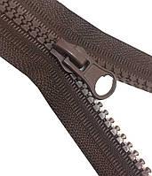 Застежки-Молнии  16см (ТРАКТОР Тип-5) разъемные, цвет № 570 коричневый (шоколад)