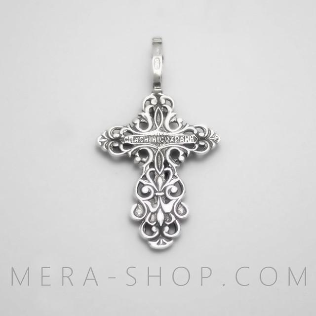 Православный крест с надписью спаси и сохрани