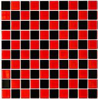 Мозаика Leo Ceramica красно-черная
