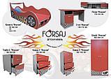 Кровать машина Китти серия Форсаж малинового цвета, для детей и подростков, с бесплатной доставкой в Ваш город, фото 7
