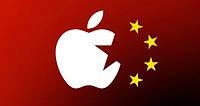 Продажи Apple в Китае падают