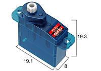 Сервопривод микро 3.5г batan s0820 0.4кг/0.1сек цифровой
