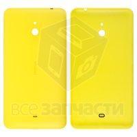 Задняя панель корпуса для мобильного телефона Nokia 1320 Lumia, желтая