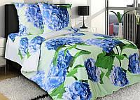 Двуспальное постельное белье Гортензия