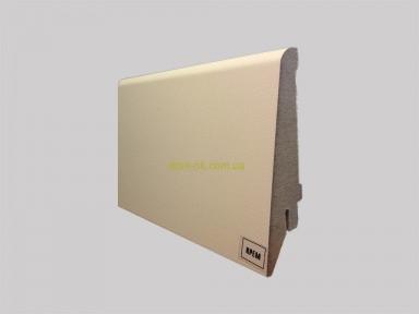 Супер профиль МДФ плинтус, высота 82 мм., длина 2,8 м Кремовый