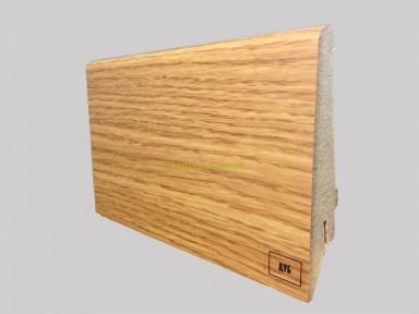 Супер профиль МДФ плинтус, высота 82 мм., длина 2,8 м Дуб