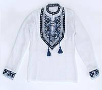 Вышиванка для мальчика 0129 (х/б)