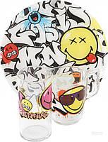 Набор детской посуды Luminarc Disney Smiley World Graffity 3 предмета
