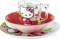 Набор детской посуды Luminarc Disney Hello Kitty Cherries J0768
