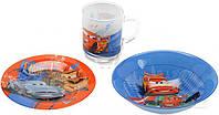 Набор детской посуды Luminarc Disney Cars 2 3 шт H1499