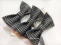 Классический галстук-бабочка (краватка-метелик) серого цвета для мальчика - украшение для любого праздника