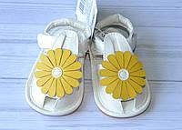 """Пинетки для девочки """"Желтый цветок"""" 12 размер"""