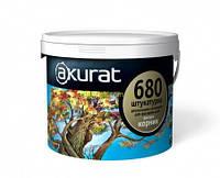 Штукатурка AKURAT Seria - 680 штукатурка Короед силиконовая 25 кг Короед 1,5мм.