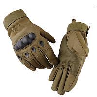 Тактические военные перчатки Oakley закрытие 3 цвета в наличии оливковый