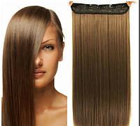 Волосы на заколках цвет  русый