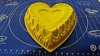 Силиконовая форма для тортов и кексов Сердце.