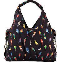Эффектная женская сумка Kite 932 Beauty; K17-932, чёрный