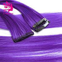 Волосы на заколках накладные цветные  пряди яркие разноцветные