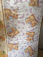 Матрас в детскую кроватку, кокос паролон кокос , толщина 7 см
