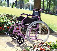 Коляска инвалидная, регулируемая с фиксатором, без двигателя Golfi-19 (Турция)