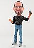 Стив Джобс Apple качественная статуэтка, сувенир, талисман, кукла, игрушка Steve Jobs (оригинал) Киев