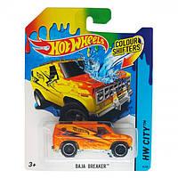 Машинки меняющие цвет Hot Wheels Baja Breaker BHR18
