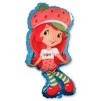 Фольгированные шары фигура Девочка клубничка 97х53