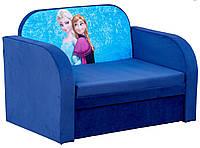"""Детский диван кровать с персонажами мультфильмов, """"Рио"""" Холодное сердце (Разные рисунки)"""