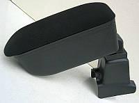 Подлокотник Renault Dokker / Sandero Botec черный тканевый