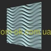 """Гипсовые 3D стеновые панели """"Volna"""""""