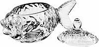 Икорница  Рыба 15,5х7,5х10,5 см HY1850