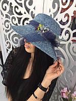 Женская пляжная шляпа №40-7780