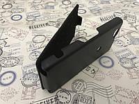Кожаный чехол флип Melkco для Sony Xperia Z1 / i1 / C6903 чёрный